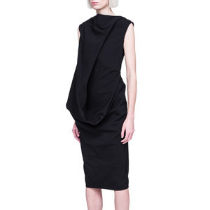 S/S 2019 Rick Owens Babel Black Dress 8
